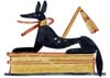 Anubis, god of Ancient Egypt